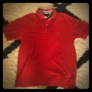 Tommy Hilfiger M size t shirt button neck